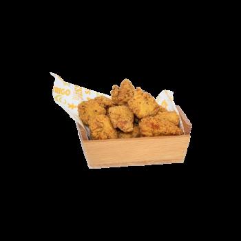 Palomitas de pollo con salsa Chili Dulce